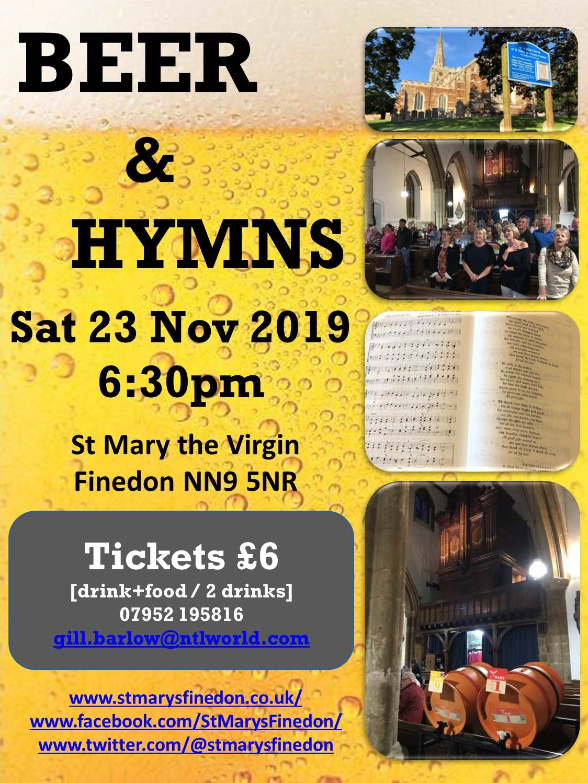 Beer and Hymns 23 Nov 2019 v3